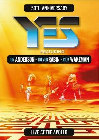 Cover Yes feat. Jon Anderson - Trevor Rabin - Rick Wakeman - 50th Anniversary - Live At The Apollo [DVD]